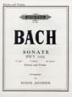 Sonata BWV 1023 E Min