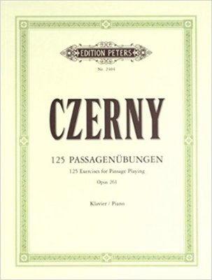 125 Exercises for Passage Playing Op. 261