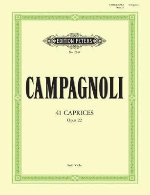 41 Caprices Op. 22