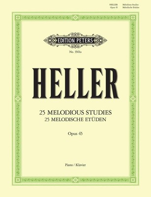 25 Melodious Studies Op. 45