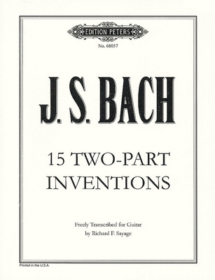 15 Two-Part Inventions