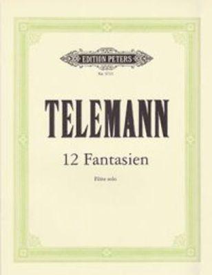 12 Fantasias for Flute