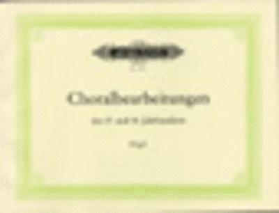 120 Chorale Preludes Of 17th And 18th Centuries