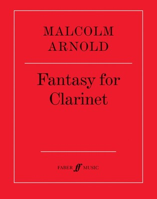 ARNOLD   FANTASY FOR CLARINET