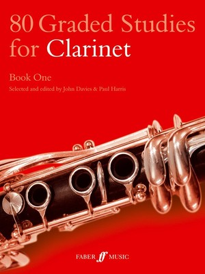 80 GRADED STUDIES FOR CLARINET BK 1