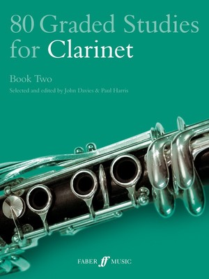 80 GRADED STUDIES FOR CLARINET BK 2