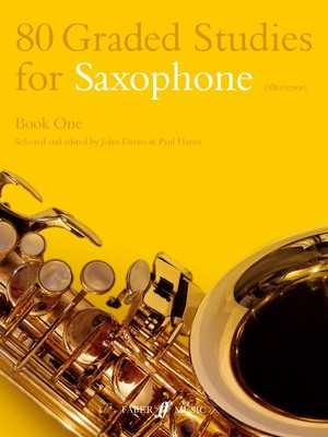 80 GRADED STUDIES FOR SAX BK 1