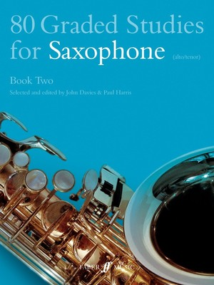 80 GRADED STUDIES FOR SAX BK 2