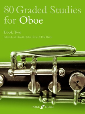 80 GRADED STUDIES FOR OBOE BK 2