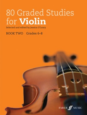 80 GRADED STUDIES FOR VIOLIN BK 2