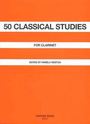 50 CLASSICAL STUDIES FOR CLARINET ED WESTON
