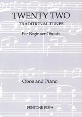 22 TRADITIONAL TUNES OBOE/PIANO