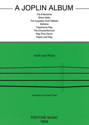 A JOPLIN ALBUM VIOLIN/PIANO ARR FRASER