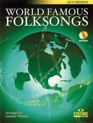 WORLD FAMOUS FOLKSONGS ACCORDION BK/CD ACD