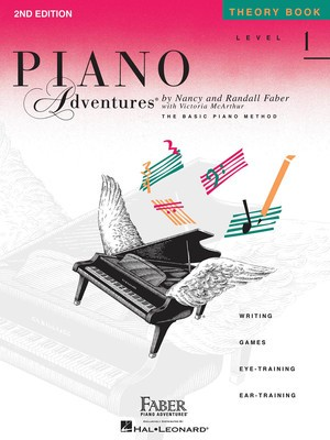 PIANO ADVENTURES THEORY BK 1 2ND EDN