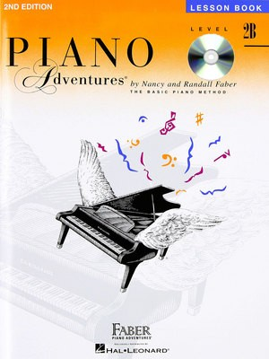 PIANO ADVENTURES LESSON BK 2B BK/CD 2ND ED