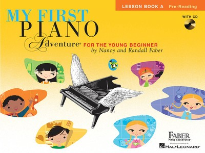 MY FIRST PIANO ADVENTURE LESSON BK A BK/CD