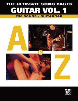 ULTIMATE SONG PAGES V1 A TO Z GTR TAB