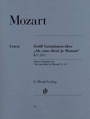 12 Variations on 'Ah, vous dirai-je Maman' K.265 (300e)