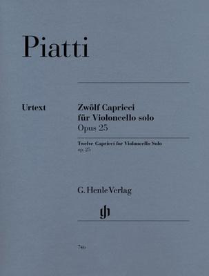12 Capricci Op. 25 for Violoncello solo