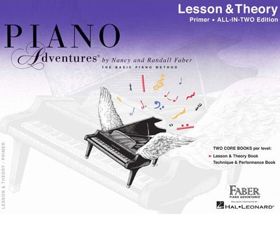 PIANO ADVENTURES ALL IN TWO PRIMER LESSON THEORY