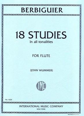 18 Studies in All Tonalities