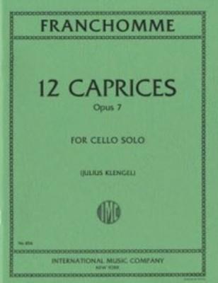 12 Caprices Op. 7