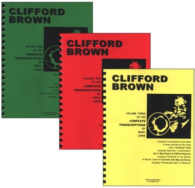 Clifford Brown Transcriptions