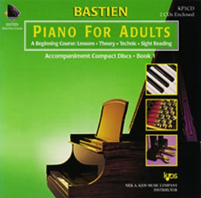 Piano for Adults, Book 1 (2CD Set)
