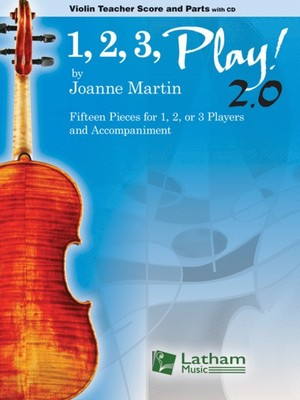 1, 2, 3, Play! 2.0 - Violin Teacher Score and Parts with CD