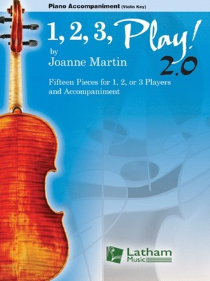 1, 2, 3, Play! 2.0 - Piano Accompaniment (Violin Key)