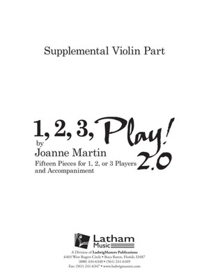 1, 2, 3, Play! 2.0 - Supplemental Violin Part