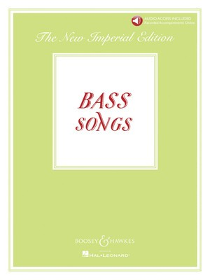 BASS SONGS IMPERIAL EDITION PIANO/VOCAL