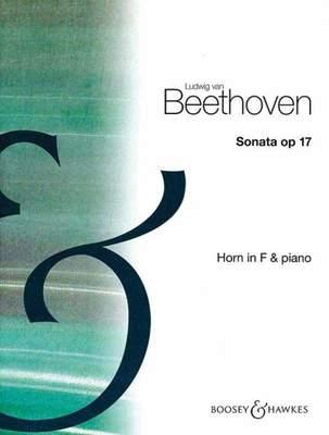 BEETHOVEN   SONATA IN F MAJOR OP 17 HORN/PIANO