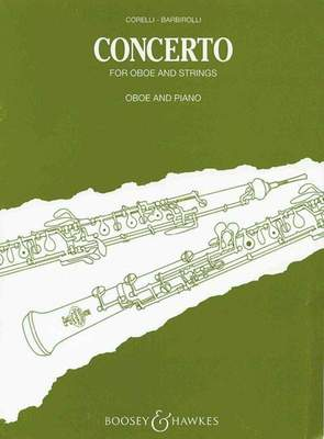 CONCERTO FOR OBOE & STRINGS PNO REDUCTION