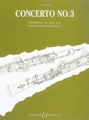 Concerto No. 3 G Minor HWV 287
