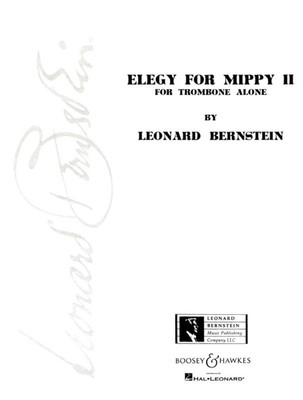 BERNSTEIN   ELEGY FOR MIPPY II TROMBONE