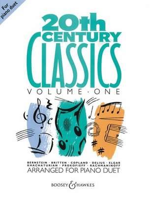 20TH CENTURY CLASSICS VOL 1 PNO DUETS