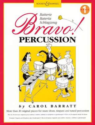 BRAVO  PERCUSSION BK 1