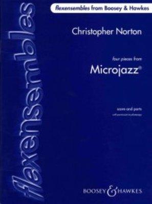 4 PIECES FROM MICROJAZZ FLEX ENSEMBLE SC/PTS