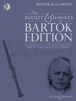 BARTOK FOR CLARINET BK/CD