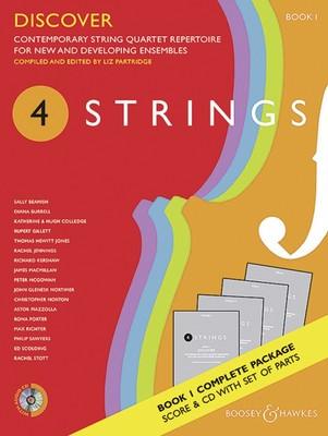 4 STRINGS   DISCOVER BK 1 STRING QUARTET SC/PTS/CD
