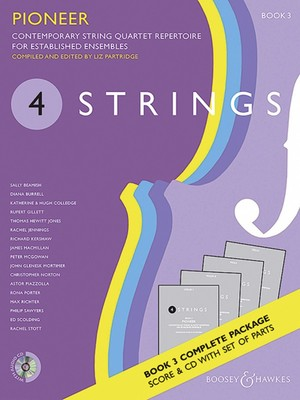 4 STRINGS   PIONEER BK 3 STRING QUARTET SC/PTS/CD