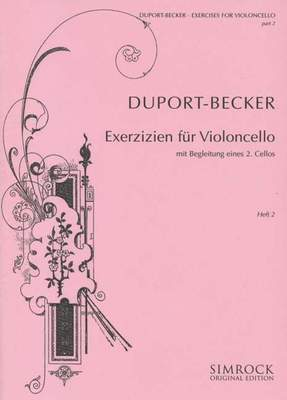 21 Exercises Book 2 for Cello