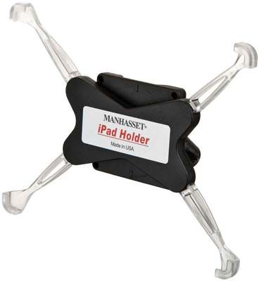 Ipad Holder for Any Manhasset Stand Shaft
