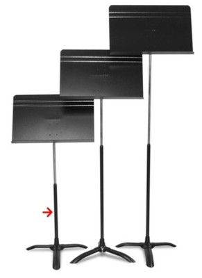 Concertino Music Stand Shaft Only