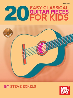 20 Easy Classical Guitar Pieces for Kids Bk/Cd