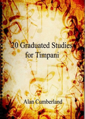 20 Graduated Studies For Timpani