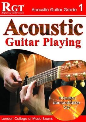 RGT ACOUSTIC GUITAR PLAYING GR 1 BK/CD