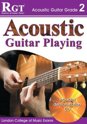 RGT ACOUSTIC GUITAR PLAYING GR 2 BK/CD